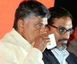 Andhra CM at CII meeting