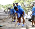 Bengaluru FC players participate in Clean India Campaign