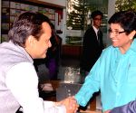 Kiran Bedi at Greenwood