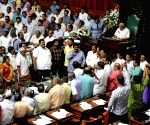 Karnataka assembly passes budget amid BJP ruckus, adjourned sine die