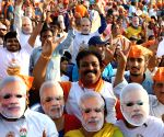 BJP leading in 8 LS seats in Karnataka