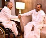 Siddaramaiah meets Jaipal Reddy