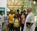 Jairam Ramesh during a programme at IISC