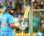Bengaluru ODI: Rohit matches Kohli's ton tally vs Aus