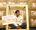 Rohan Bopanna campaigns for PETA