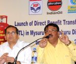 Launch of direct benefit transfer of LPG subsidy