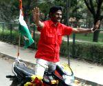 Bengaluru : Motor-bike stunt