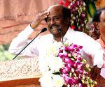 Rajnikanth donates Rs 50 lakh to CM's Public Relief Fund