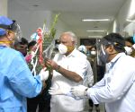 Yediyurappa to self-quarantine after discharging from hospital