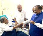 Karnataka CM wishes speedy recovery of Siddaramaiah