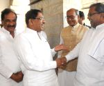 Digvijaya Singh  with Karnataka CM K Siddaramaiah