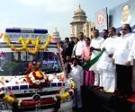Karnataka CM inaugurates fleet of ambulances