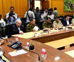 Karnataka CM meets police officials after  28 Dec Church street blasts