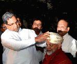 Karnataka CM felicitates ISRO chairman