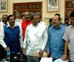 Karnataka CM at Vidhan Soudha