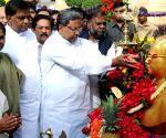 Karnataka CM pay tribute to Baba Saheb Dr. BR Ambedkar