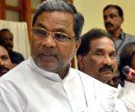 Siddaramaiah's press conference