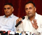 Dinesh Gundu Rao during a press conference
