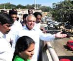 Karnataka Minister inspect infra-development projects in Bengaluru