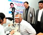 Free eye checkup camp for BMTC bus employees