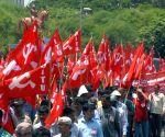 Leftists' rally