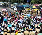 State Sugarcane Growers Association's rally