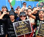 Demonstration in support of Gorkhaland