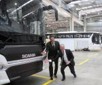 Scania bus factory - inauguration