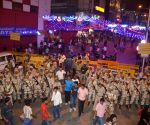 Security beefed-up in Bengaluru during  new year celebrations