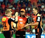 : (130415) Bengaluru: IPL - 2015- Royal Challengers Bangalore vs Sunrisers Hyderabad