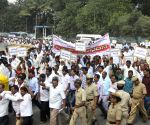Karnataka Government employees demonstration