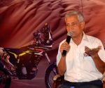 Head of TVS Racing Arvind Pangaonkar at a press conference