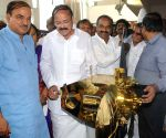 Naidu and Ananth Kumar at the DAVP photo exhibition