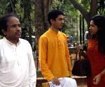 L. Subramaniam addresses press regarding launch of his music school