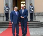 GERMANY BERLIN ABBAS STEINMEIER MEETING