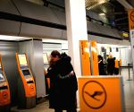 Berlin (Germany): Lufthansa's check-in desks in Tegel airport, Berlin