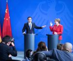 GERMANY BERLIN CHINA LI KEQIANG ANGELA MERKEL PRESS CONFERENCE