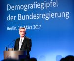 GERMANY-BERLIN-DEMOGRAPHY SUMMIT OF GERMAN FEDERAL GOVERNMENT 2017