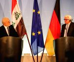 GERMANY BERLIN IRAQ FM PRESS CONFERENCE