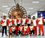 Free Photo: BFI press release: 14-member Indian boxing team leave for Boxam Tournament in Spain.