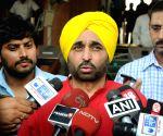 Sidhu an honest man, says Punjab AAP chief Mann