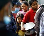 NEPAL BHAKTAPUR EARTHQUAKE FOOD RELIEF