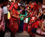 NEPAL-BHAKTAPUR-NIL BARAHI DANCE FESTIVAL