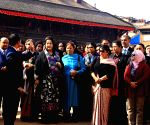 Bhaktapur (Nepal): First ladies SAARC visit Nyata Pola Temple