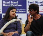 Shah Rukh Khan at Bhumi poojan of Mohammed Rafi Chowk