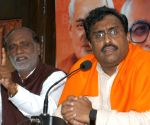 Ram Madhav's press conference