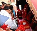 Free Photo: Guwahati: Bharatiya Janata Party leader Himanta Biswa Sarma who is set to be the next chief minister of Assam visited Kamakhya temple before the oath-taking ceremony in Guwahati