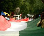 (110717) New Delhi: BJYM demonstration against Amarnath attack