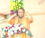Odisha govt disrespecting freedom fighters: Yogi