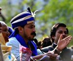 Bhim Army's sit-in demonstration - Chandrasekhar Azad